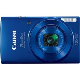 Canon 1Y8499 PowerShot 190 IS 20 Megapixel Compact Camera, Blue