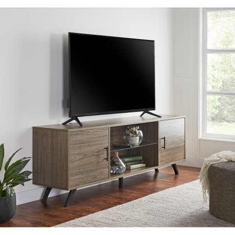Flaunt 70-inch Mid-Century Modern Media TV Console by ModArte - 70 inches