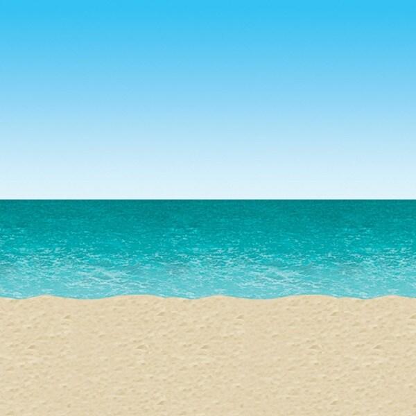 Ddi Ocean & Beach Backdrop (pack Of 18)