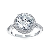 a3956beae3a6b Shop 2 CT Round Brilliant Cubic Zirconia Sterling Silver Criss Cross ...