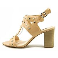 INC International Concepts Womens Kieraa2 Leather Open Toe Special Occasion S...