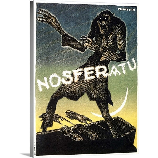 Shop Premium Thick-Wrap Canvas entitled Nosferatu, a