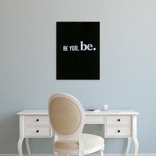 Easy Art Prints Deborah Velasquez's 'Be Beautiful III' Premium Canvas Art