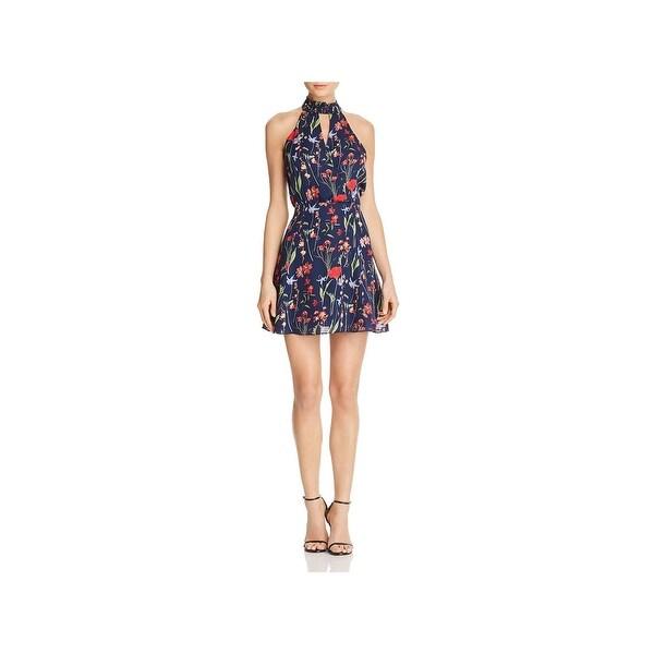 3177a24b0a781 Shop Parker Womens Jolene Party Dress Silk Floral Print - Free ...