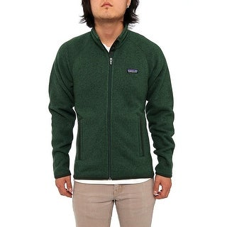 Patagonia Men Men's Better Sweater Jacket Fleece Malachite Green