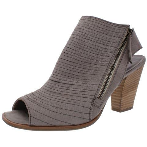 Paul Green Womens Alexandra Booties Braided Leather