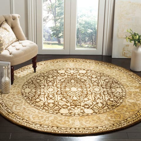 Safavieh Handmade Silk Road Fransien Traditional Oriental Wool Rug
