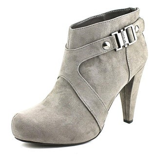 G By Guess Talka Round Toe Canvas Bootie