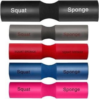 "Squat Sponge Olympic Barbell Pad (18"" x 3.5"" x 1.25"") (Option: Purple)"