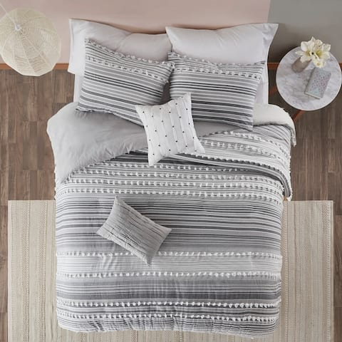 Urban Habitat Charlie Cotton Duvet Cover Set