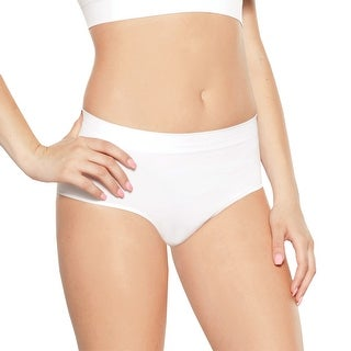 Women's 3 Pack Rhonda Shear Full Coverage Seamless Underwear