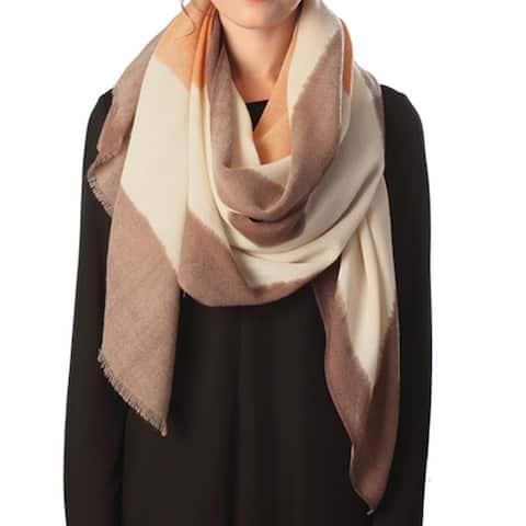 Women's Oversize Fall Plaid Blanket Scarf