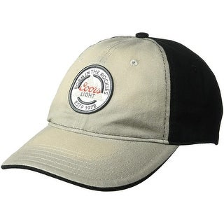 Men S Authentic Baseball Hat Coors Light Beer Logo Cap Embroidered