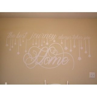 Hanging Stars' 56 x 22.5-inch Large Vinyl Wall Decal