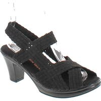 Bernie Mev Women's Lizette Synthetic Sandals - Black