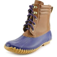 American Living Lyndsey Women Tn/Nvy Snow Boots