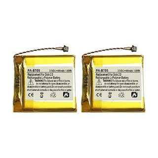 Battery for Beats CPP573 (2-Pack) Replacement Battery