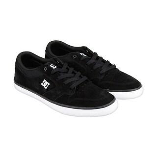 DC Argosy Vulc Mens Black Suede Lace Up Sneakers Shoes