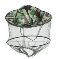Father's Day Men Women Foldable Hiking Fishing Cap Sun Hat Mesh Veil Hooded