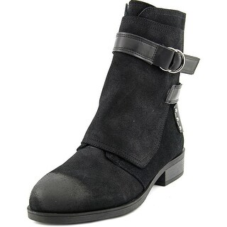Fergie Neptune Round Toe Suede Ankle Boot