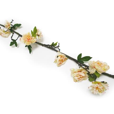 7.3ft Peony Flower Vine Garland