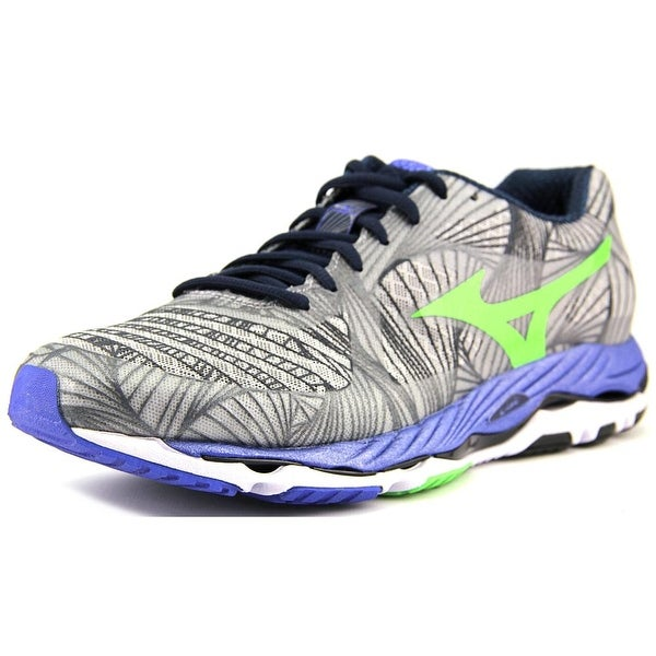 Mizuno Wave Paradox Men Round Toe Synthetic Gray Running Shoe