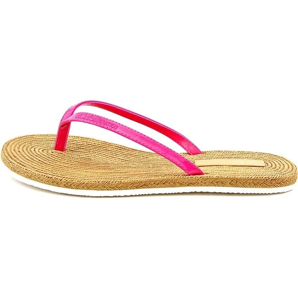 BCBGeneration Womens YOLO Open Toe Casual Slide Sandals