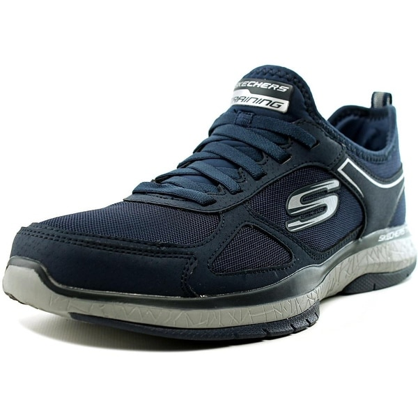Skechers Burst TR Men Round Toe Synthetic Blue Cross Training