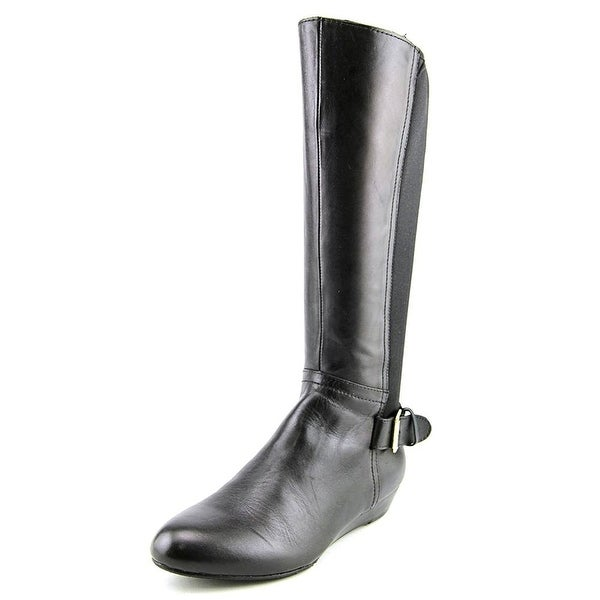 ARRAY Womens Peace Leather Almond Toe Knee High Fashion Boots