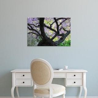 Easy Art Prints Michel Hersen's 'Cherry Tree In Bloom' Premium Canvas Art
