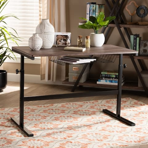 Anisa Modern and Industrial Height Adjustable Desk