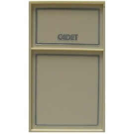 Cadet C612TP (43392) Double Pole Tamper Proof Wall Mount Thermostat, 22 Amp