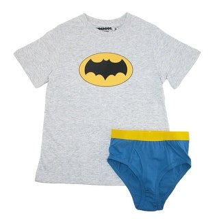 Underoos Boys' Batman Superhero Underwear Shirt Set - Multi