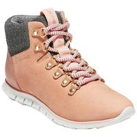 Cole Haan Women's ZEROGRAND Hiker Boot Mocha Mousse Nubuck/Vapor Grey