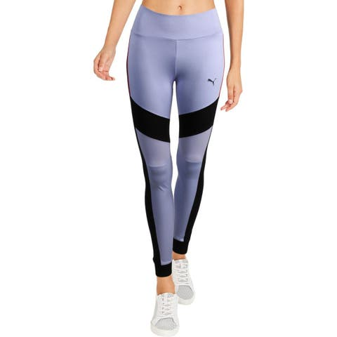 Puma Womens Chase Athletic Leggings Fitness Workout