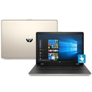 "HP 15-bs013DS Quad-Core Pentium N3710 1TB HDD 15.6"" HD Touch Screen Laptop - silk gold"
