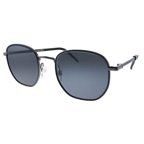 Tommy Hilfiger TH 1672/S V81 Unisex Dark Ruthenium Black Frame Grey Lens Sunglasses