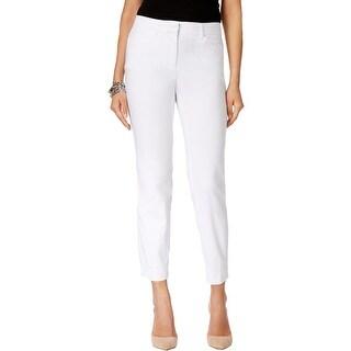 Grace Elements Womens Casual Pants Slim Fit Colored