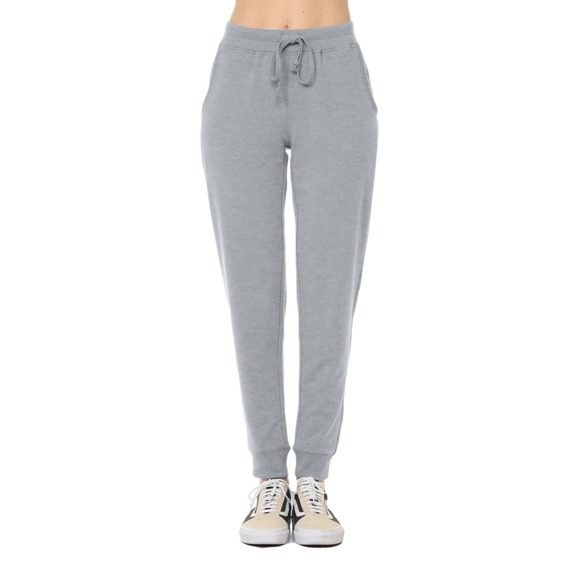 Envlon Womens Yoga Sweatpants with Pockets Drawstring Cuff Joggers Workout Pants Elastic Waist Casual Lounge Pants