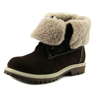 Pegia 15720F Youth Round Toe Suede Boot
