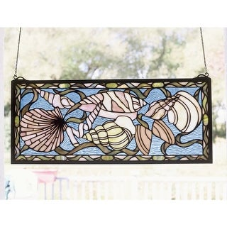 Meyda Tiffany 36431 Stained Glass Tiffany Window from the By the Sea Collection - Tiffany Glass - N/A