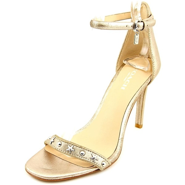 Coach Melrose Women Open Toe Leather Sandals