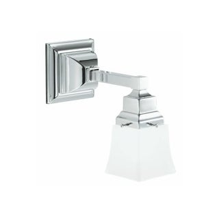 Robern MLLWS M Series Single Light Bathroom Sconce with Frosted Glass Shade
