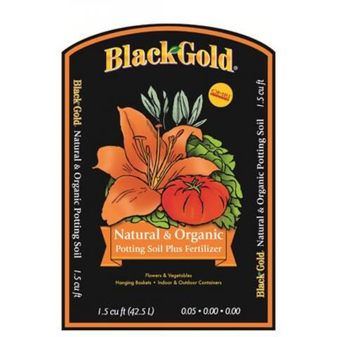 Black Gold Natural & Organic Potting Mix, 1.5 cu. ft.