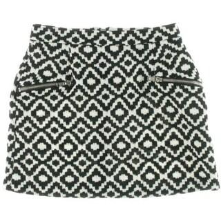 Aqua Womens Floral Print Pockets Casual Shorts - XS