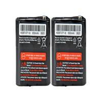 Replacement For Motorola 53615 2-Way Radio Battery (650mAh, 3.6V, NiMH) - 2 Pack