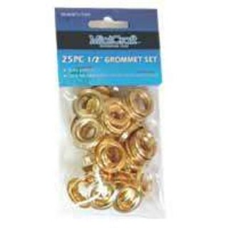 "Mintcraft JL-VT159893L 1/2"" Grommet Set 25 Piece"