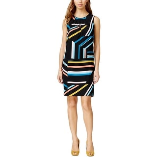 Nine West Womens Casual Dress Printed Sleeveless