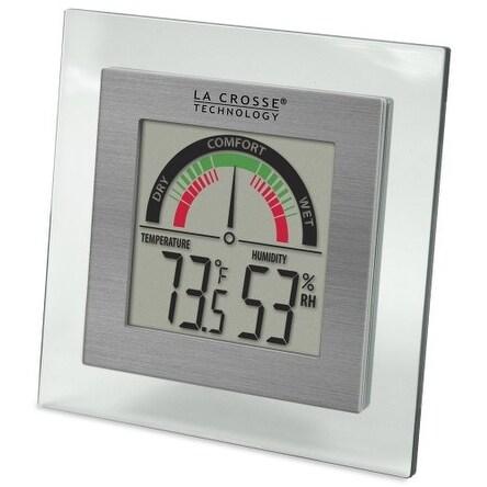"""La Crosse Technology LCRWT137UM La Crosse Technology WT-137U Digital Thermometer/Hygrometer with Comfort Meter"""