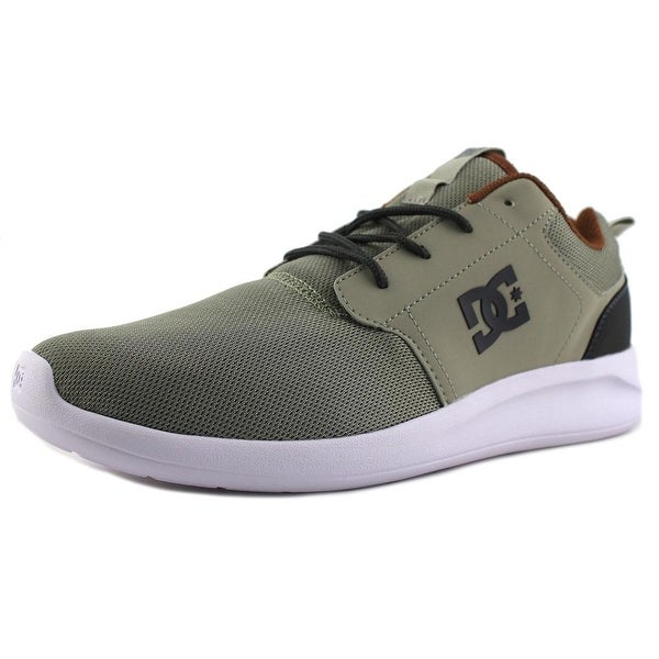 DC Shoes Midway SN Men Round Toe Synthetic Gray Skate Shoe
